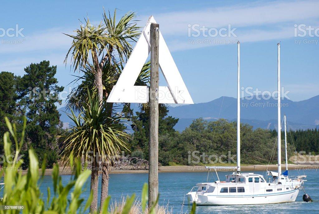 Mapua Estuary, Nelson, NZ stock photo
