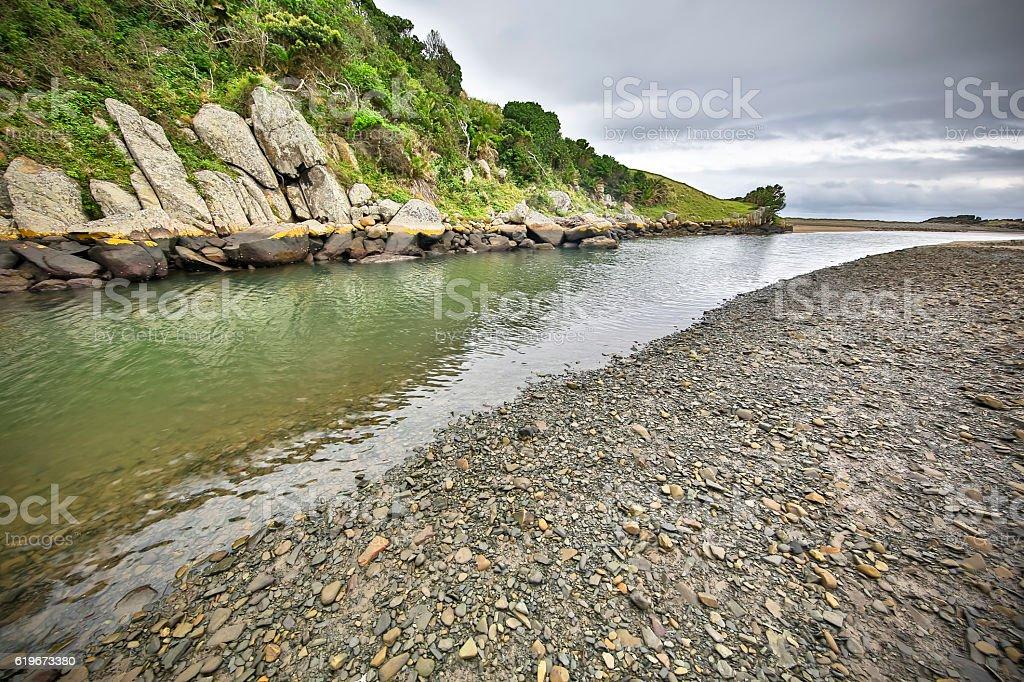 Mapusi River stock photo