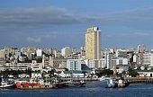 Maputo scenic city view