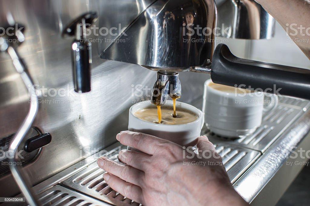 Maquina de café photo libre de droits