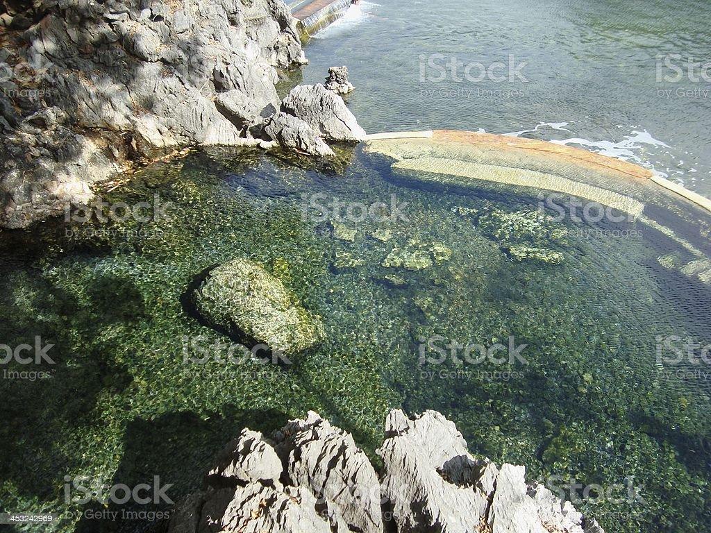 Maquinit hot spring, Busuanga Philippines stock photo