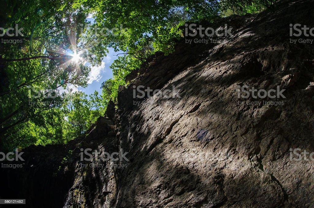 Maquoketa Caves stock photo