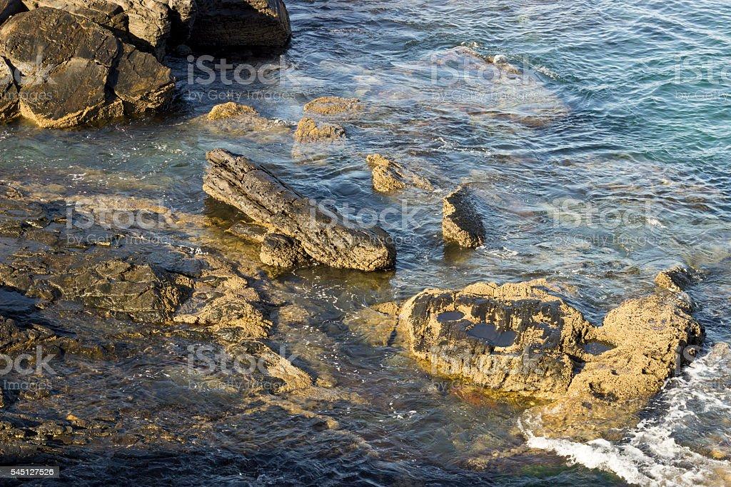 Mar - Cabo Frio, RJ - Brasil stock photo