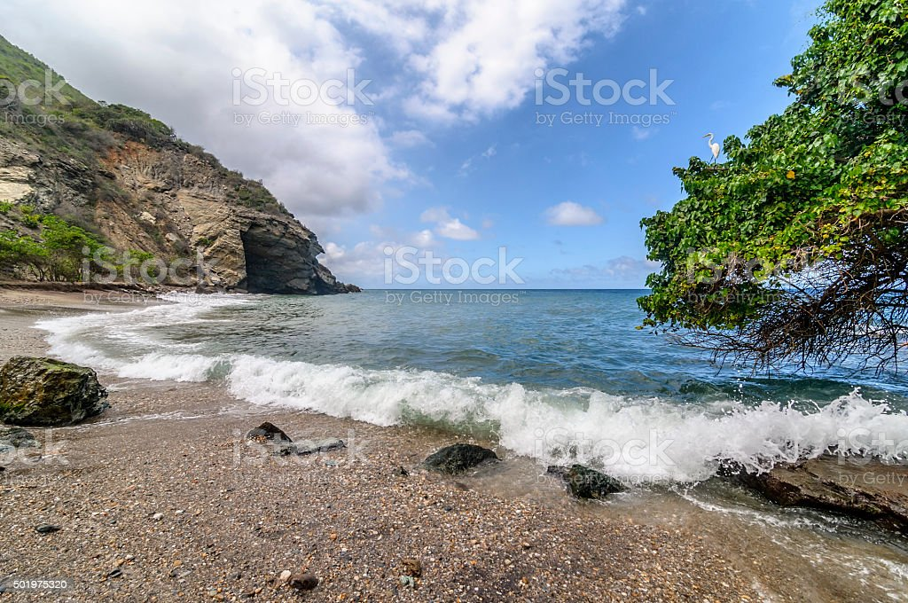 Mar Caribe stock photo