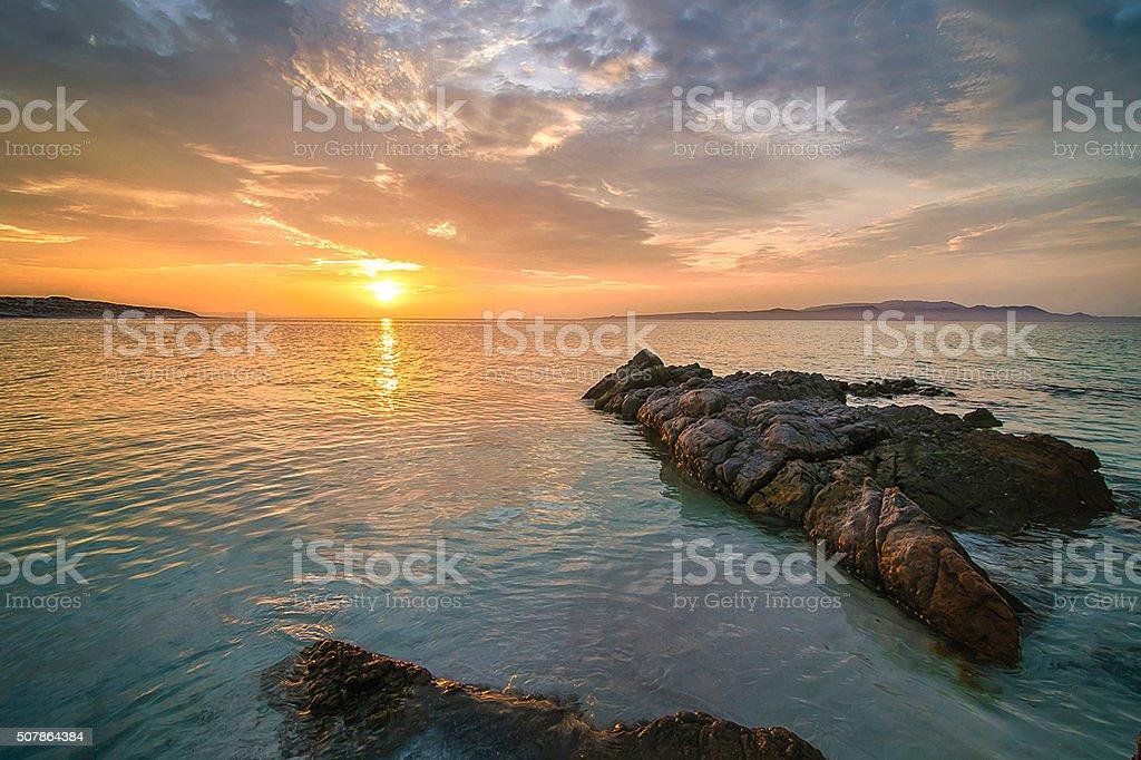 Mar de cortez stock photo
