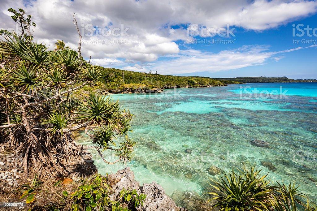 Maré Island Atoll Paradise New Caledonia Coral Reef Loyalty Islands stock photo