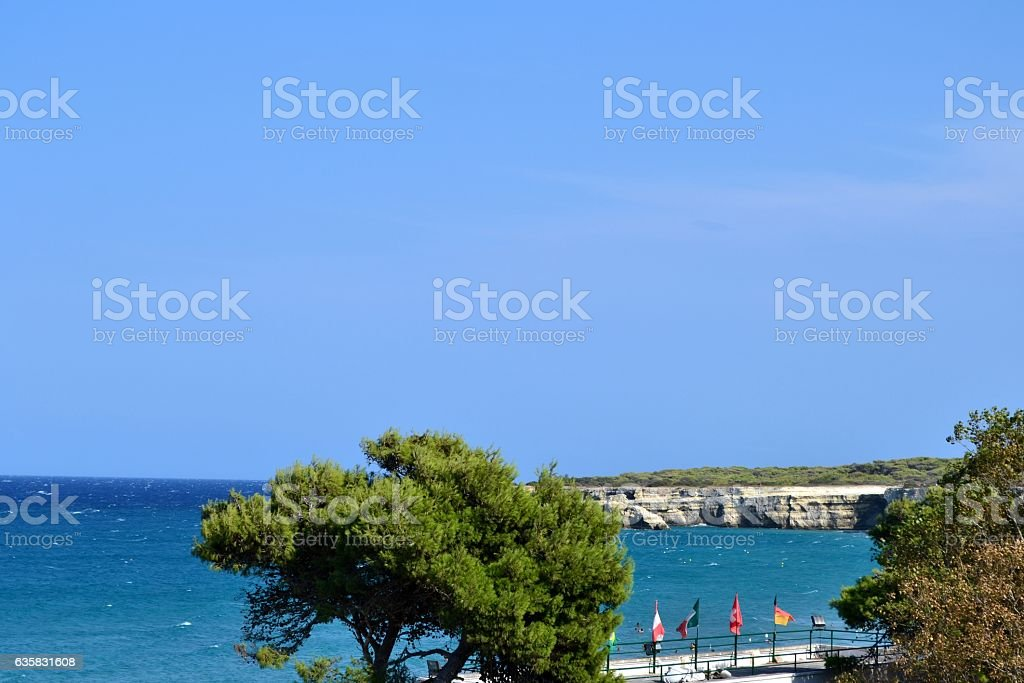 Mar Mediterraneoa stock photo