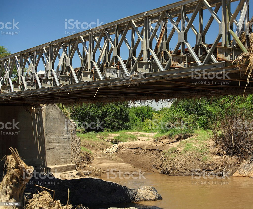 Mara Bridge royalty-free stock photo