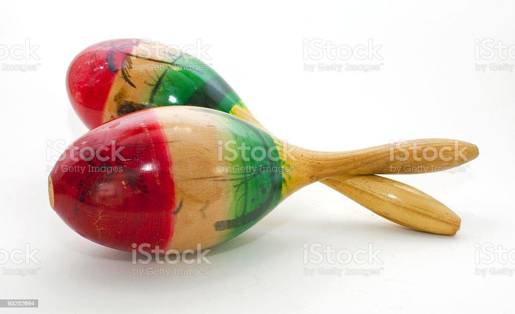 Maraca Music Instrument stock photo