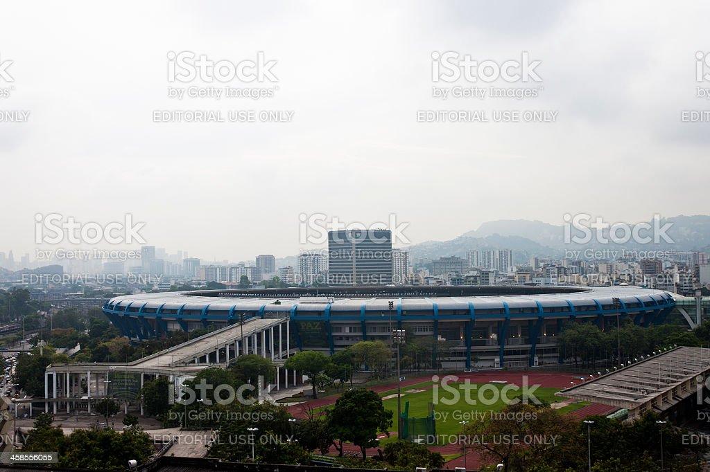 Maracana stadium in Rio de Janeiro royalty-free stock photo