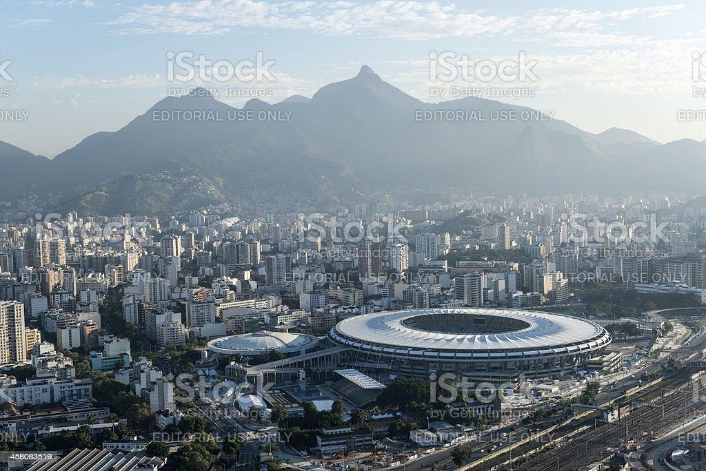 Maracana Stadium royalty-free stock photo