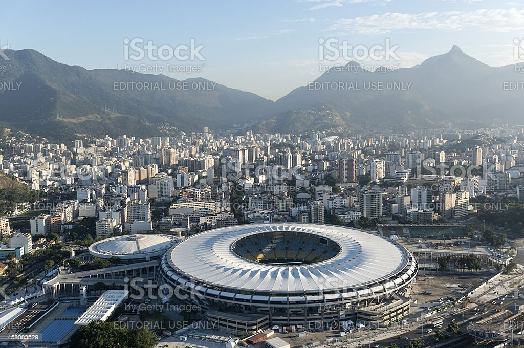 Maracana Stadium royalty-free stock photo