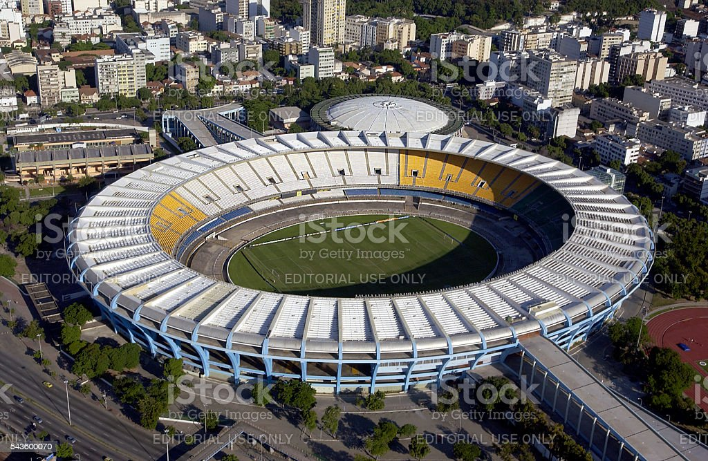 Maracana Stadium - Rio de Janeiro - Brazil stock photo