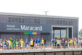 Maracana subway Station in Rio