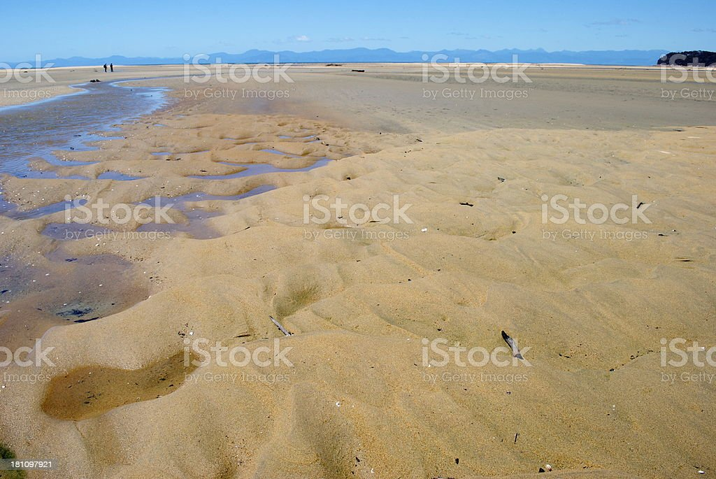 Marahau Estuary, Abel Tasman National Park, NZ royalty-free stock photo