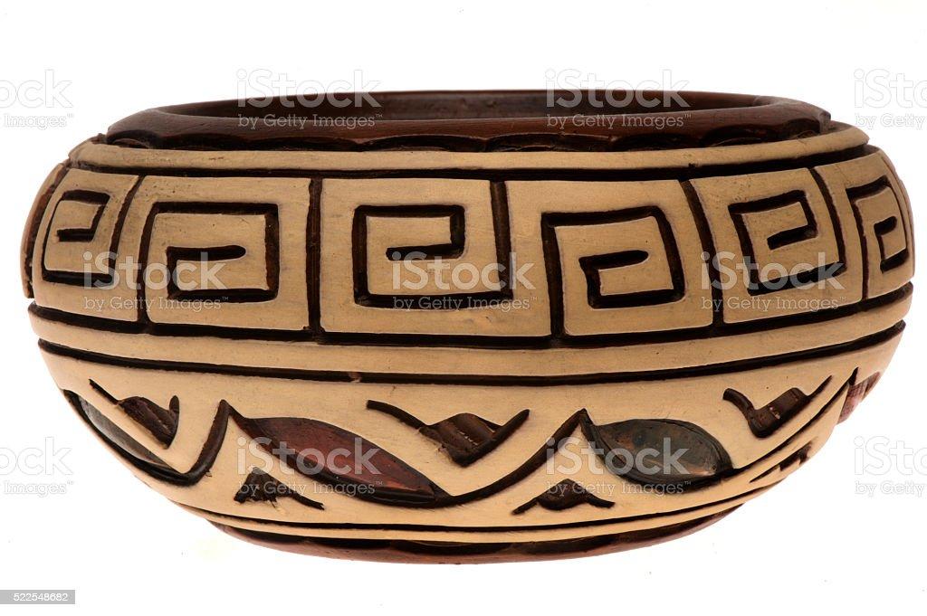 Marajoara Pot stock photo