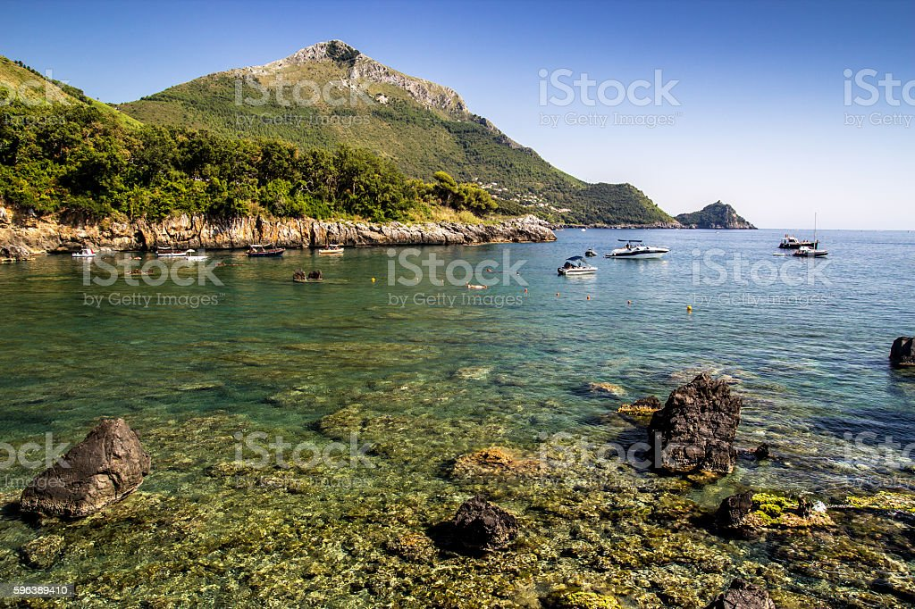 Maratea Potenza Italy stock photo