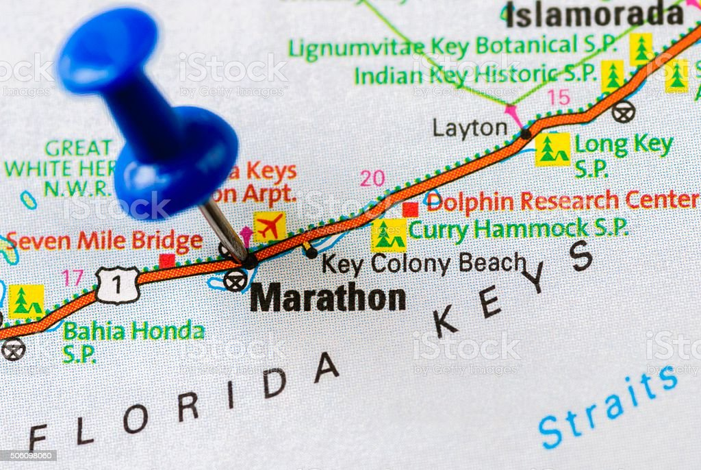 Marathon Key, Florida stock photo
