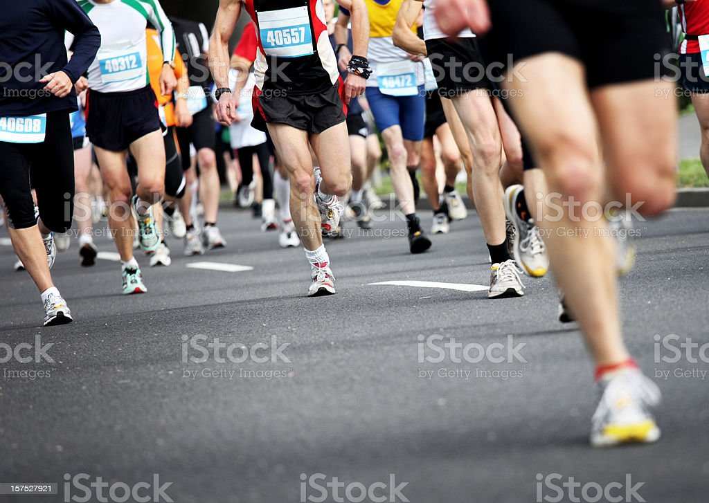 Marathon stock photo