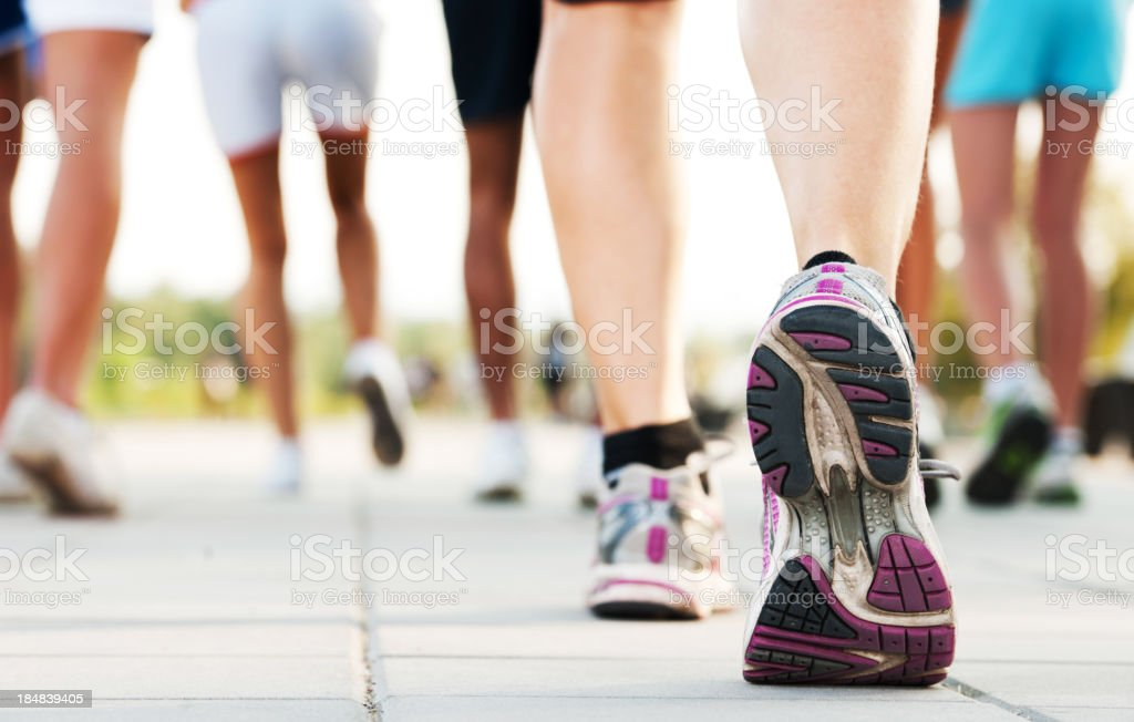 Marathon. stock photo
