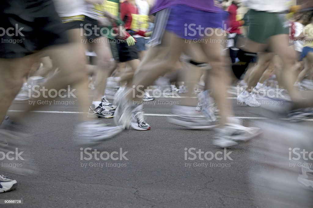 Marathon #1 royalty-free stock photo