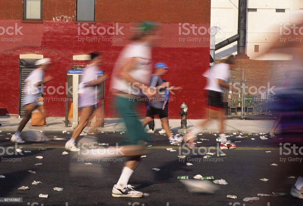NYC Marathon royalty-free stock photo