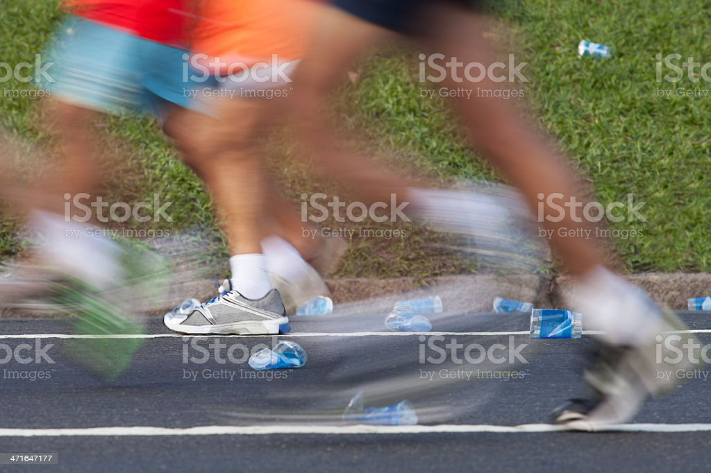 Marathon - Street Run royalty-free stock photo