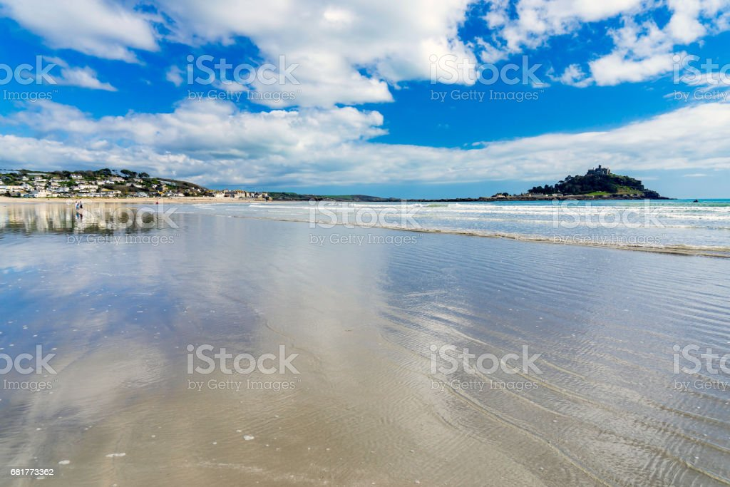 Marazion Cornwall England UK stock photo