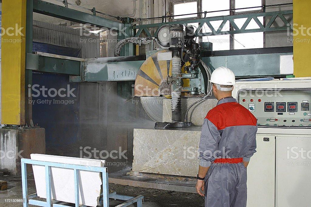 marbel factory royalty-free stock photo