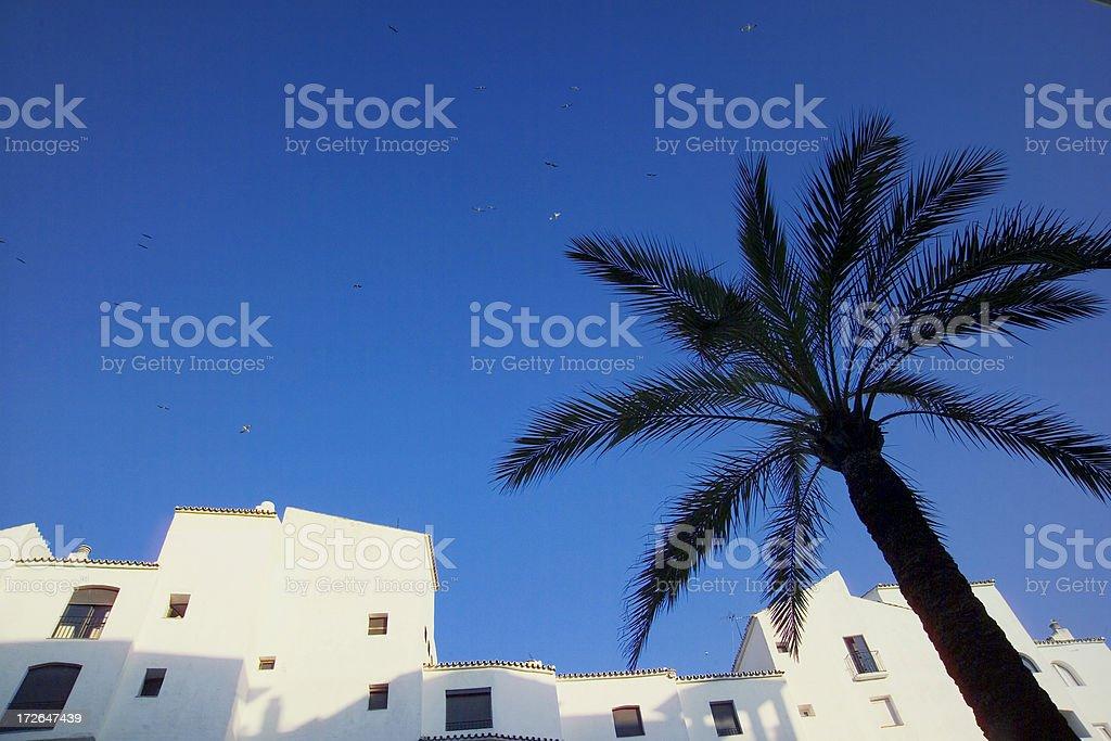 Marbella, Costa del Sol, Spain royalty-free stock photo