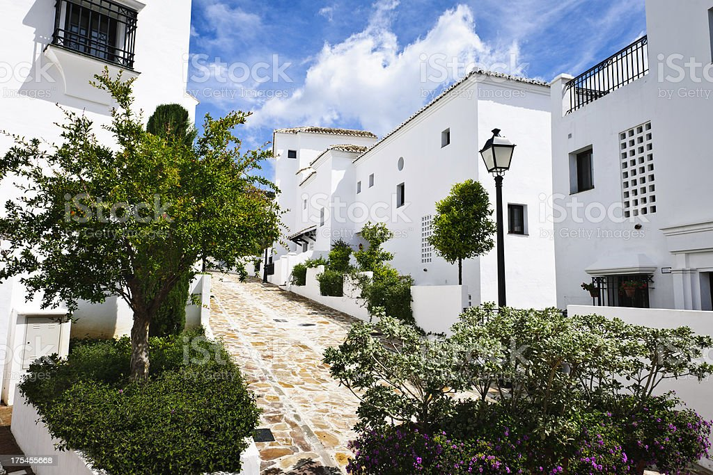 Marbella, Costa del Sol, Spain stock photo