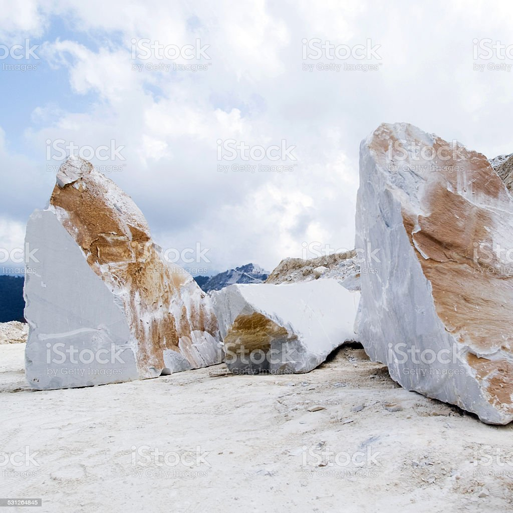 Marble block stock photo
