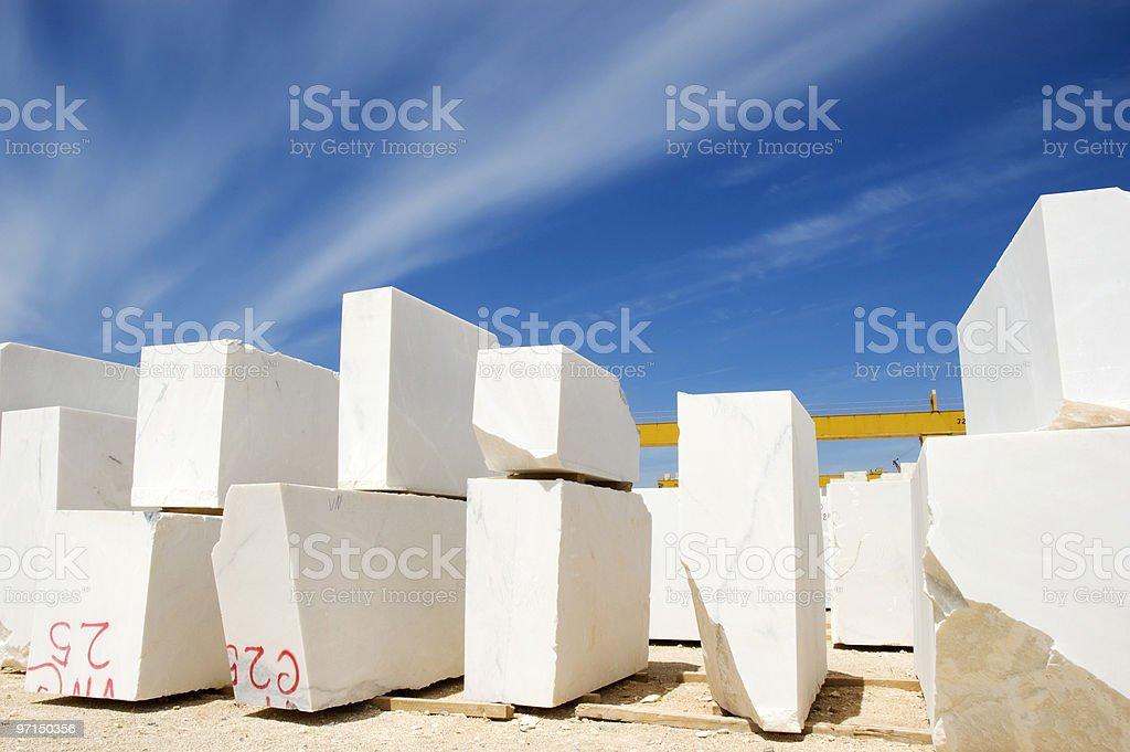 Marble blocks 1 royalty-free stock photo