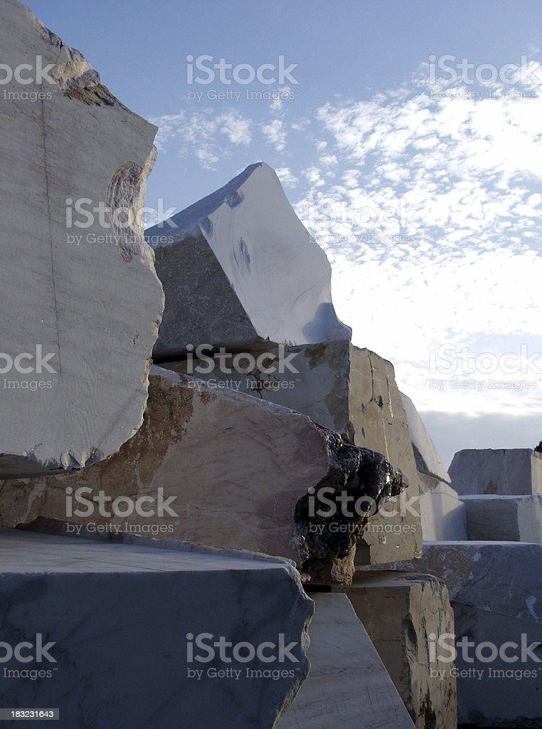 Marble Blocks stock photo