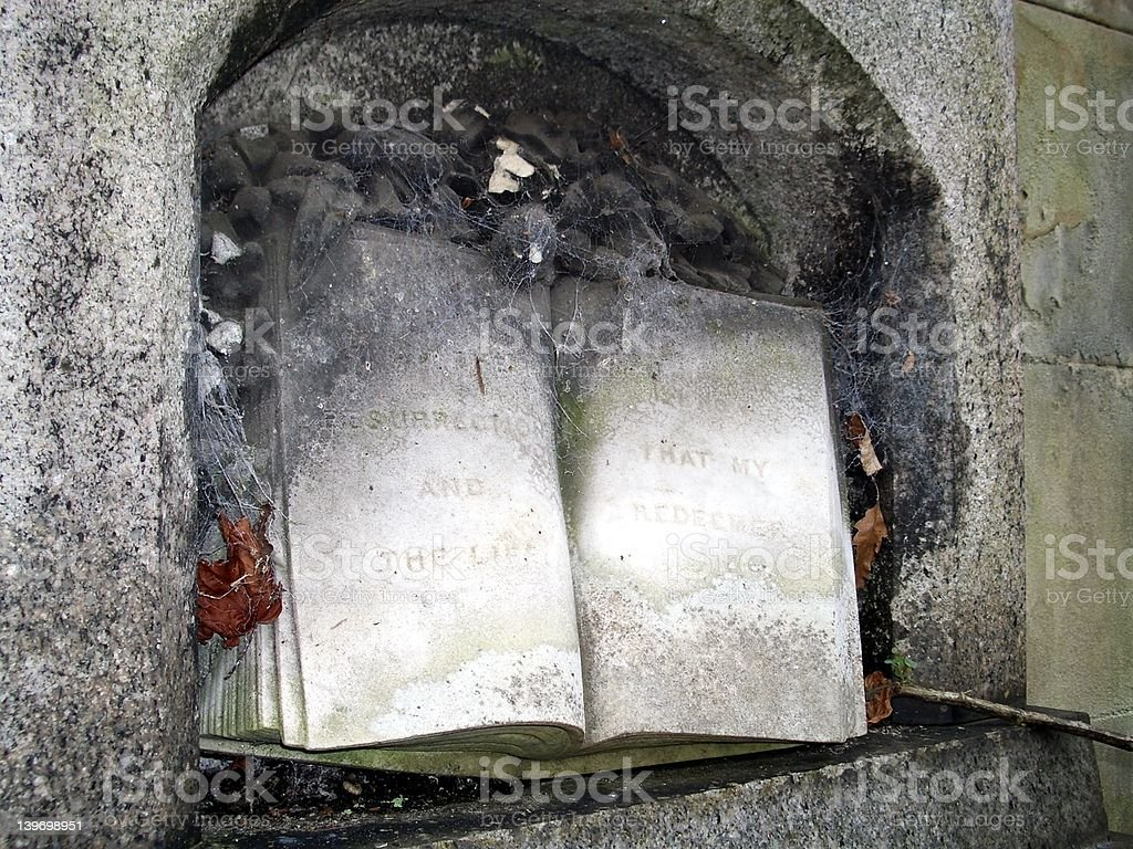 Marble Book stock photo