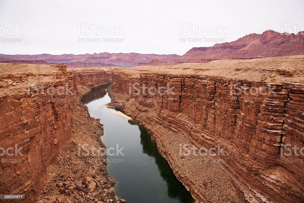Marble Canyon Arizona stock photo