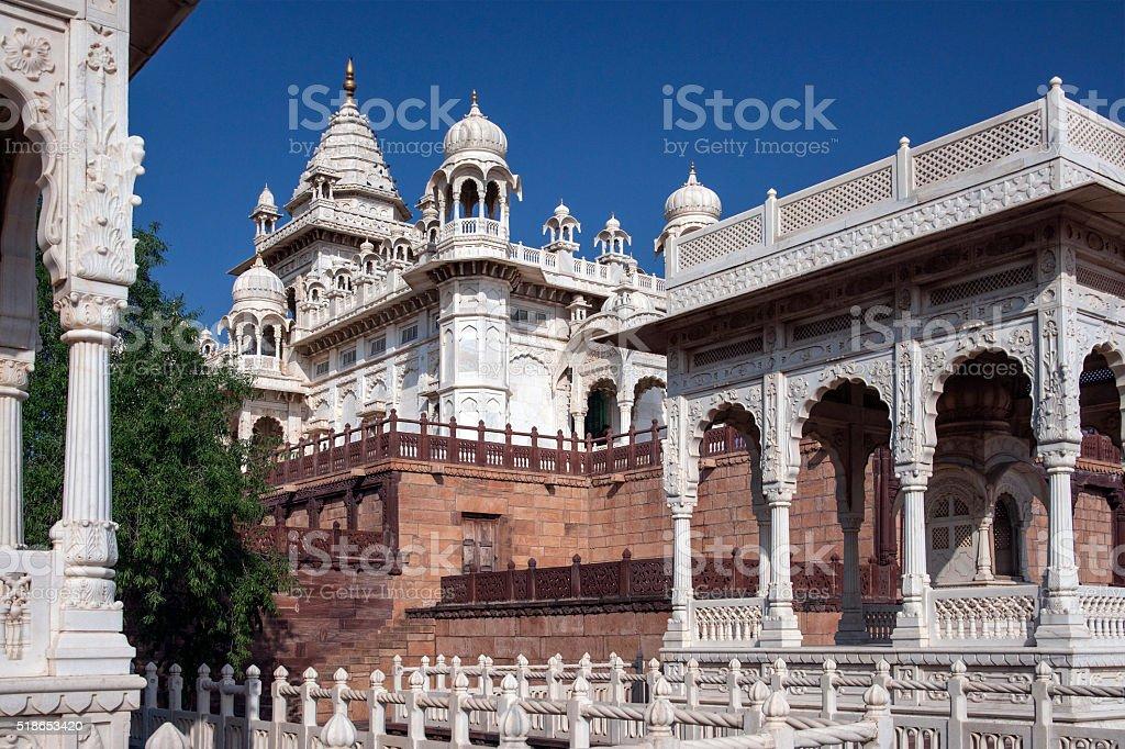 Marble Cenotaph - Jodhpur - India stock photo