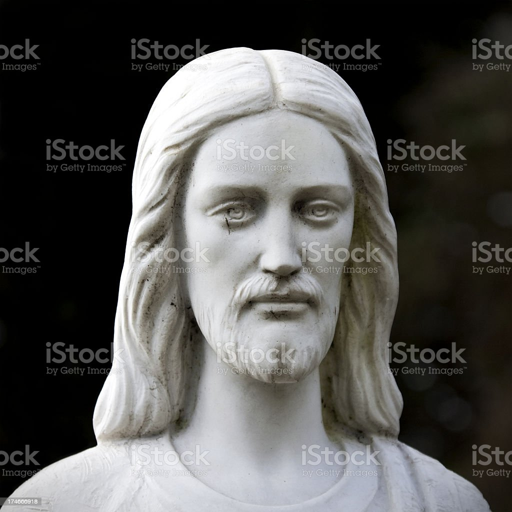 Marble Christ stock photo