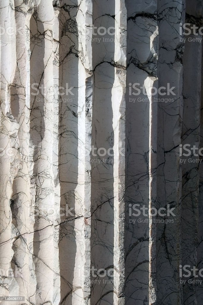 Marble column #2 royalty-free stock photo