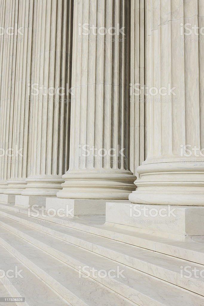 Marble Columns stock photo