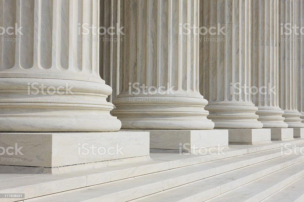 Marble Columns royalty-free stock photo