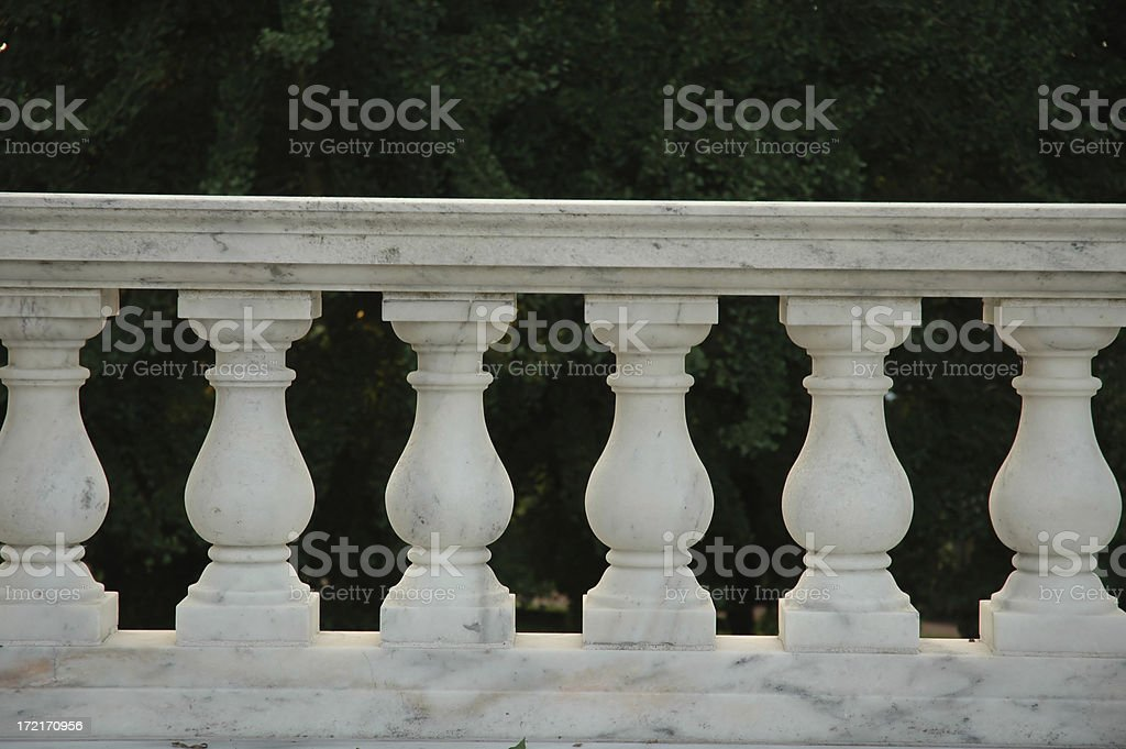 Marble Columns royalty-free stock photo