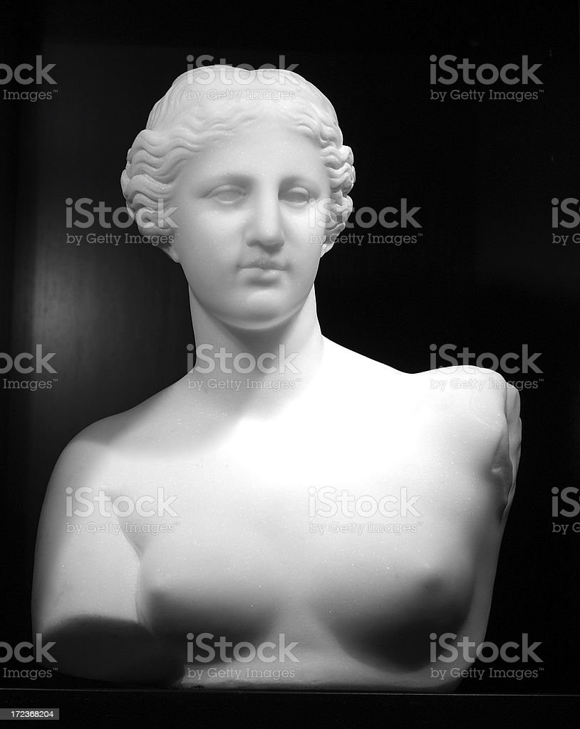 Marble copy of Venus de Milo stock photo