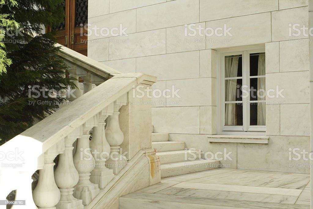 marble corner royalty-free stock photo