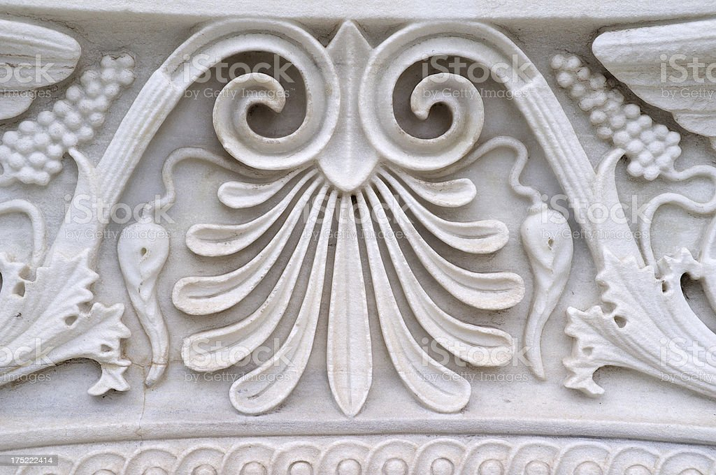 Marble Decoration royalty-free stock photo