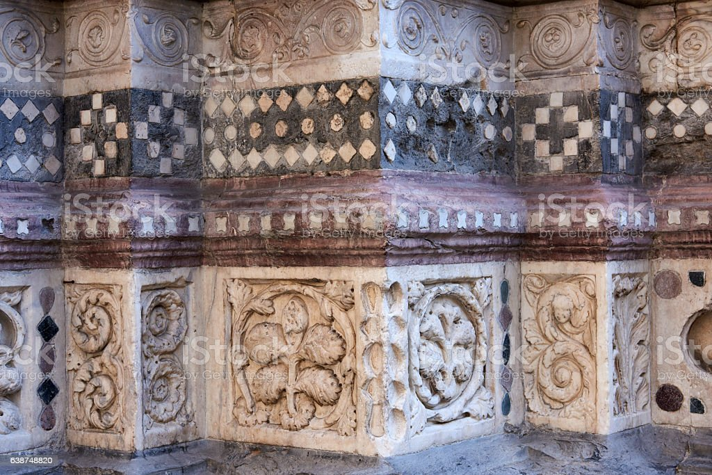 Marble Decorations stock photo