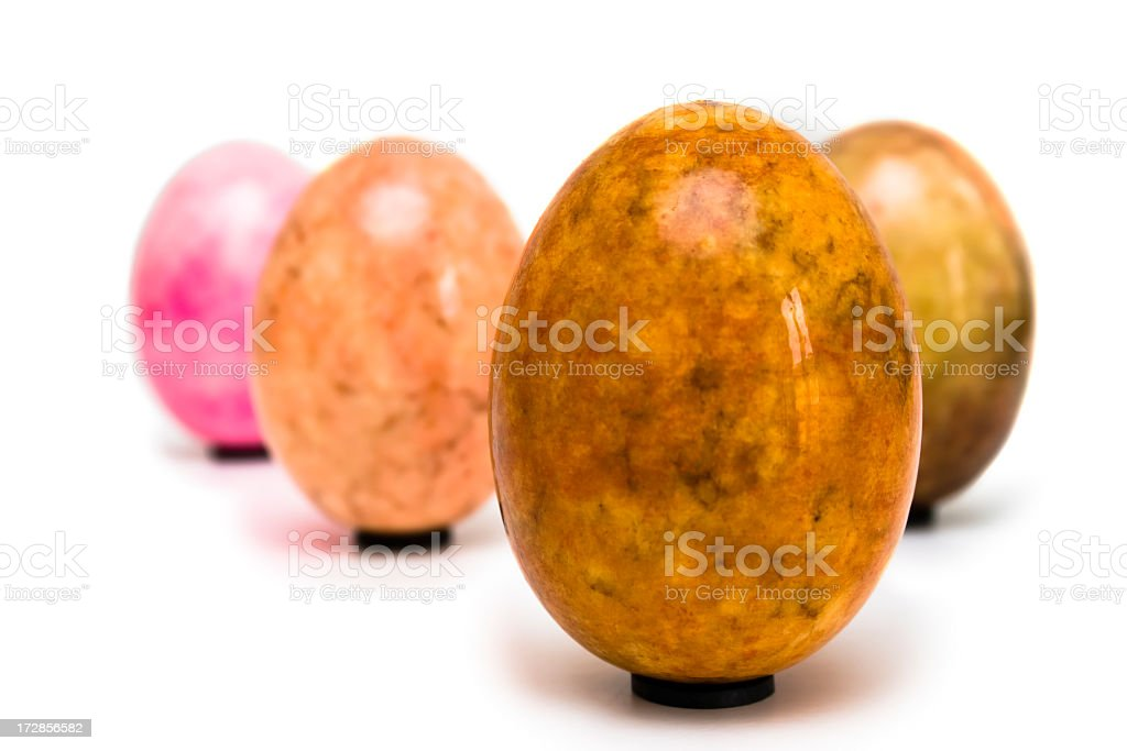 Marble Easter Egg royalty-free stock photo