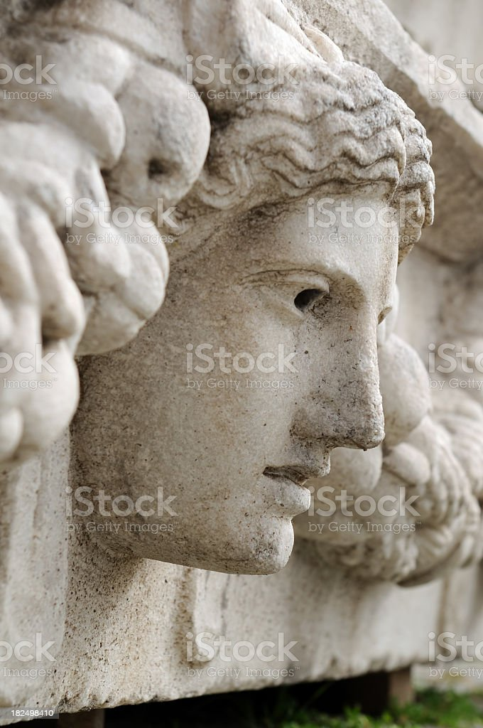 Marble Face royalty-free stock photo