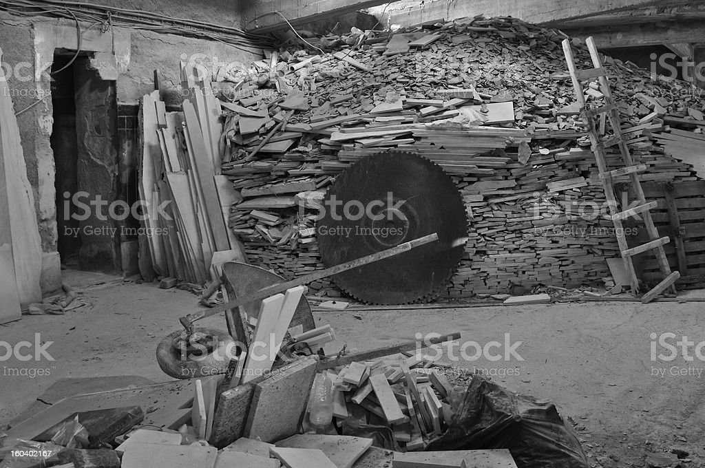 marble factory interior royalty-free stock photo
