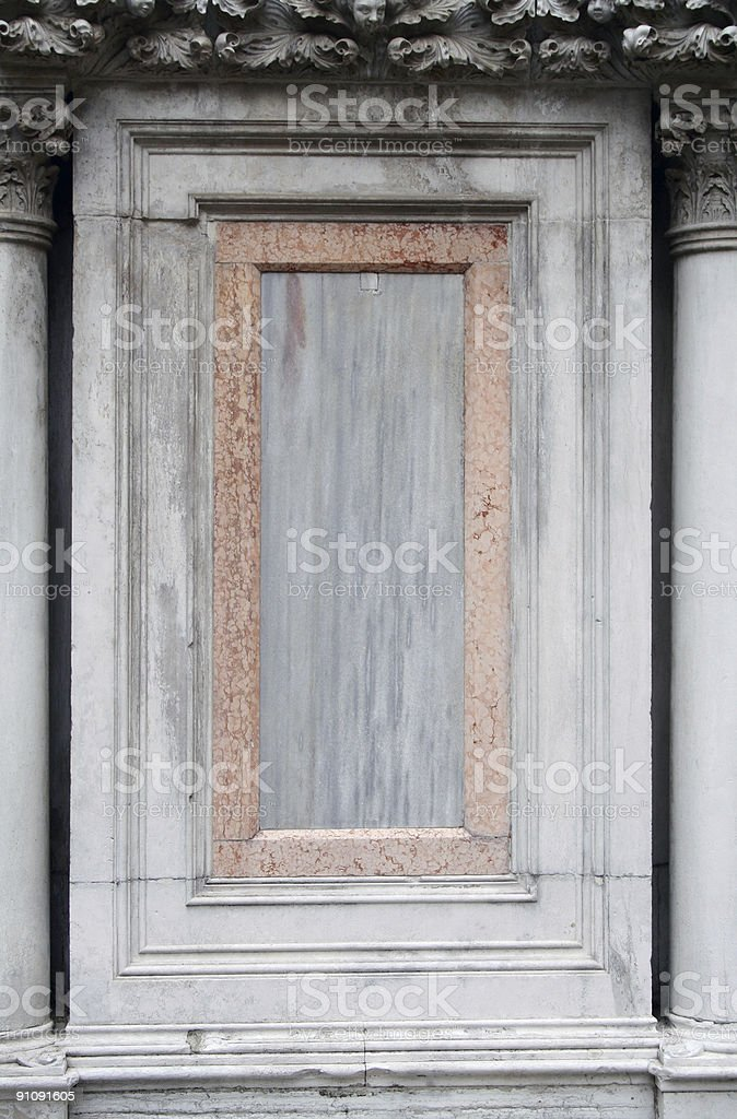 marble frame royalty-free stock photo